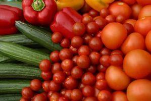 Les meilleures collations de légumes frais