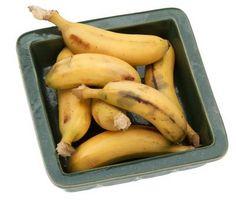 Que puis-je faire avec restes de bananes mûres?