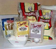 Combien de glucides sont dans la farine?
