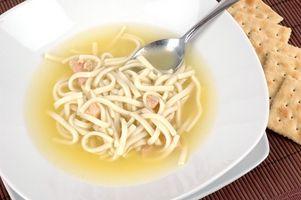 Comment épaissir la soupe poulet et nouilles