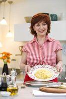 L'huile d'olive comme une alternative à la sauce à spaghetti