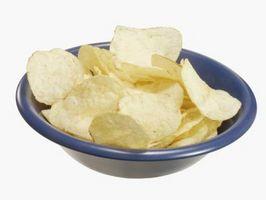 Faits Wacky propos Chips de pommes de terre