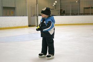 Quelle est la surface d'une patinoire artificielle en?