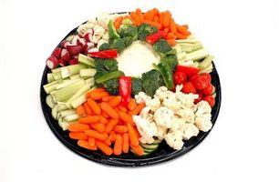 Comment Disposez les aliments sur Apéritif Platters