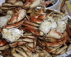 Comment faire cuire congelé crabe dormeur