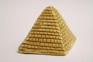 Comment construire une pyramide comestibles pour un projet d'école