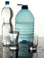 Comment congeler une bouteille d'eau