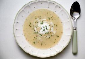 Comment épaissir la pomme de terre soupe au lard