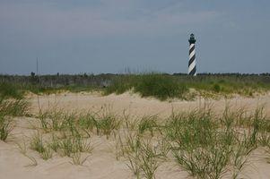 Année Camping ronde au Beaches Caroline du Nord