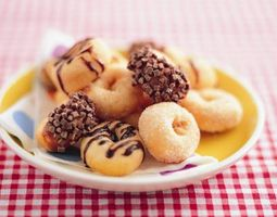 Peut-Doughnuts frit dans de l'huile d'olive?