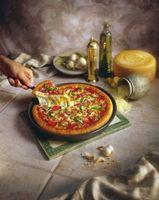 Qu'est-ce que le brossage croûte à pizza d'huile d'olive Do?