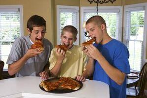 Comment faire une ronde Pizza pâte à la main