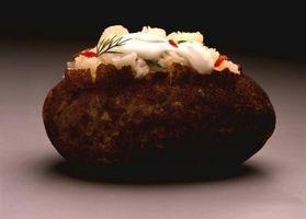 Comment faire cuire et congeler les pommes de terre farcies
