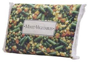 Types de macédoine de légumes surgelés