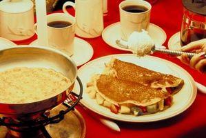 Quelle est la différence entre une crêpe et une omelette?