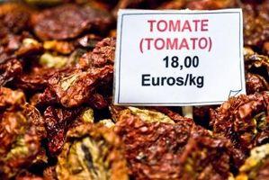 Utilise pour les tomates séchées au soleil
