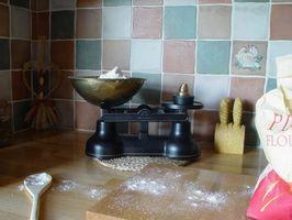 Comment changer de farine tout usage de farine à gâteau