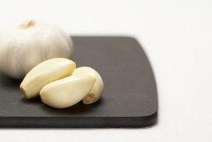 Comment remplacer ail haché pour gousses d'ail
