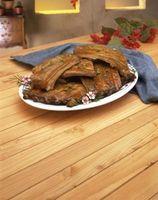 Comment barbecue porc Côtes levées