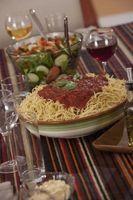 Comment faire un terrain de Spaghetti & garder au chaud