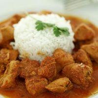 Indian Way de poulet rôti