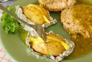 Comment faire cuire les pommes de terre en papillote en camping