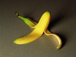 Composants d'une peau de banane