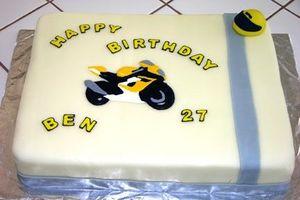 Facile Gâteau d'anniversaire Décoration