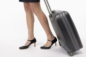 Comment changer une roue de bagages