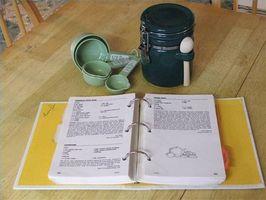 Comment mettre sur pied un livre de recettes de recette de famille