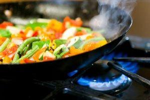 Comment faire cuire les légumes dans l'huile