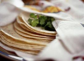 Comment faire des enchiladas de poulet avec sauce blanche