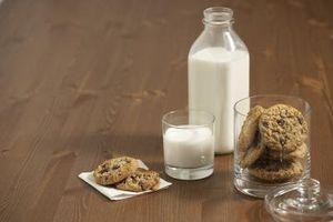 Podeu beure llet no homogeneïtzada;