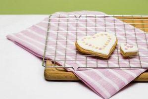 Comment faire de velours rouge cookies avec glaçage fromage à la crème