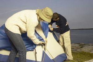 Comment planter une tente