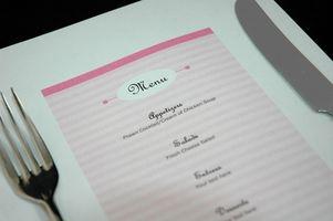 Quel est l'objectif de la planification des menus?