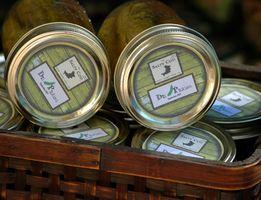 Comment concevoir Canning étiquettes