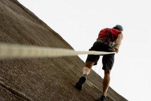 Comment utiliser une corde d'escalade sur Câbles Half Dome