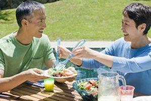 Repas rapides: poulet et haricots noirs Salade
