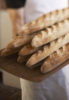 Est-ce que le pain français vicié rapidement parce qu'elle est faite avec de la pâte Lean?