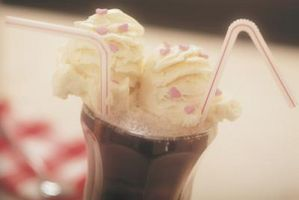 Sortes de crème glacée Flotteurs