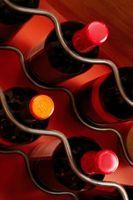 Pourquoi avez-vous jeter une bouteille de vin horizontale?