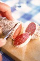Descriptions des différents types de salami