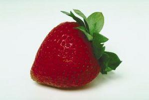 Quels sont les points sur une fraise?