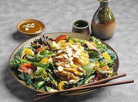 Comment faire une salade de crevettes d'Asie
