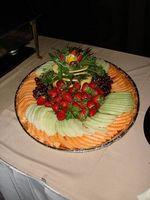 Comment faire plateaux de fruits