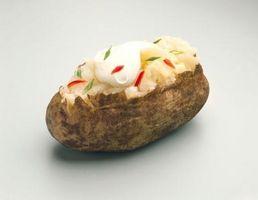 Comment chauffer une pomme de terre surgelés au four