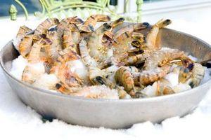 Comment garder des crevettes fraîches dans Glacières