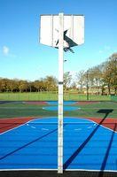 Comment faire pour installer un terrain de basket en plein air
