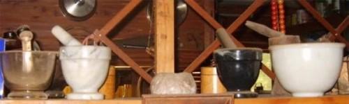 Comment faire cuire avec un mortier et pilon